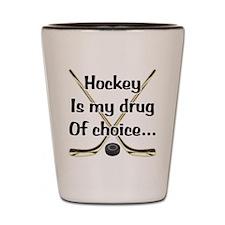 Drug Of Choice Shot Glass