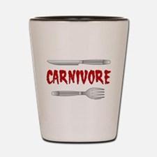 Carnivore Shot Glass