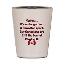 Canadian Sport Shot Glass