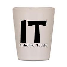 Invincible Techie Shot Glass