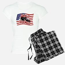 Detroit Hockey Pajamas