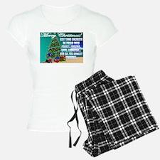 Hockey Christmas Cards & Gift Pajamas