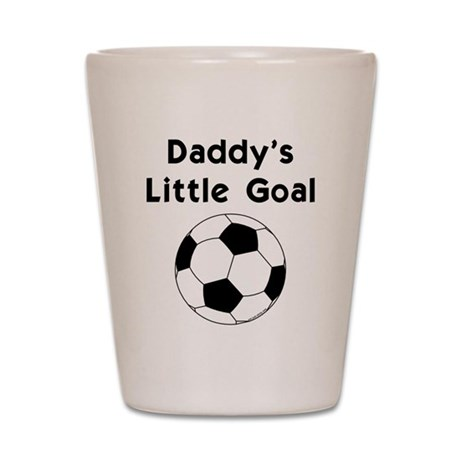 Daddy's Goal Shot Glass