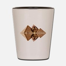 Pyramids Of Peace Shot Glass