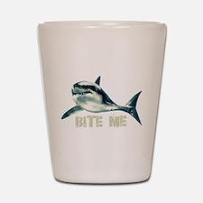 Bite Me Shark Shot Glass