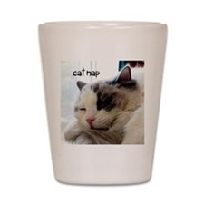 Cat Nap Shot Glass