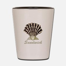 Sandwich Shell Shot Glass