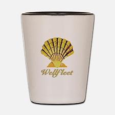 Wellfleet Shell Shot Glass