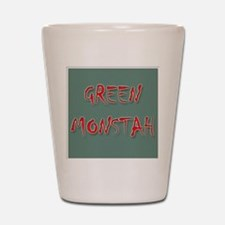 Green Monstah Shot Glass