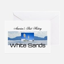 ABH White Sands Greeting Card