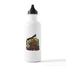 Moose humor Water Bottle