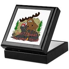 Moose humor Keepsake Box