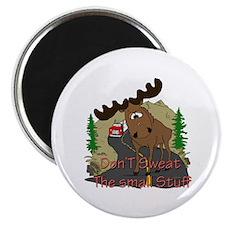 Moose humor Magnet