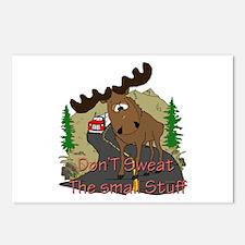 Moose humor Postcards (Package of 8)