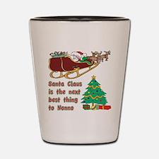 Santa claus vs Nonno Shot Glass