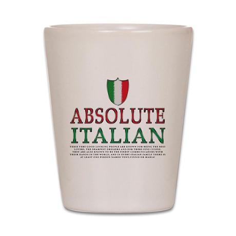 Absolute Italian Shot Glass