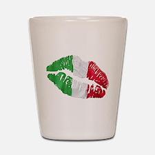 Italian kiss Shot Glass