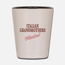 Italian grandmother Shot Glass
