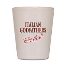 Italian Godfathers Shot Glass