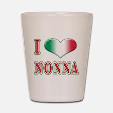 I Love Nonna Shot Glass