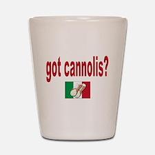 got cannolis Shot Glass