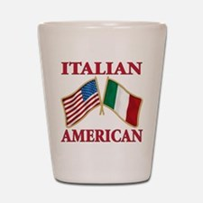 Italian american Pride Shot Glass