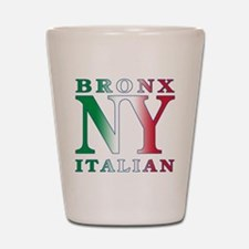 Bronx New york Italian Shot Glass
