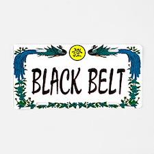 BLACK BELT License Plate