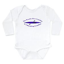 World's Best Grandma Long Sleeve Infant Bodysuit