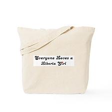Loves Liberia Girl Tote Bag
