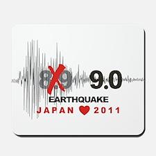Japan 9.0 Earthquake Mousepad