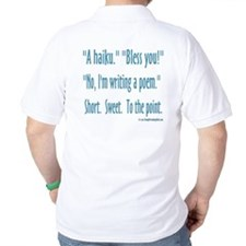 Sneeze: A Funny Haiku T-Shirt