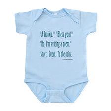 Sneeze: A Funny Haiku Infant Bodysuit