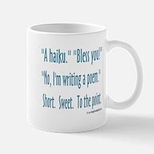 Sneeze: A Funny Haiku Mug