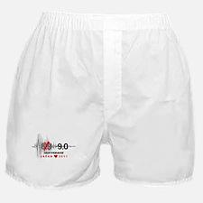 Japan 9.0 Earthquake Boxer Shorts