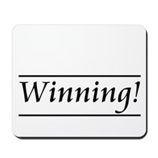 Winning! Mousepad