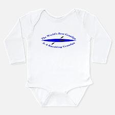 World's Best Grandpa Long Sleeve Infant Bodysuit