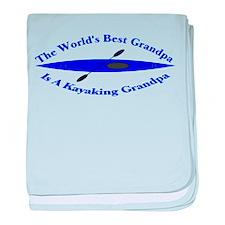 World's Best Grandpa baby blanket