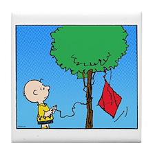 The Kite Eating Tree Tile Coaster