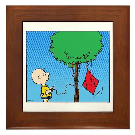 The Kite Eating Tree Framed Tile