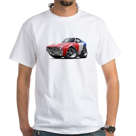 1968-69 AMX Red-White-Blue White T-Shirt