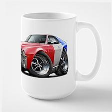 1968-69 AMX Red-White-Blue Large Mug
