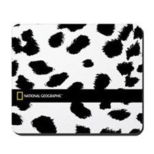 Snow Leopard Mousepad
