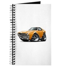1968-69 AMX Orange-White Car Journal