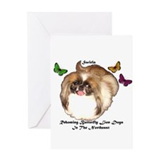 PRNI Pekingese Rescue Greeting Card