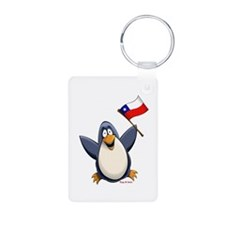 Chile Penguin Keychains