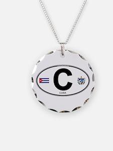 Cuba Intl Oval Necklace