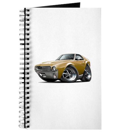 1968-69 AMX Gold Car Journal