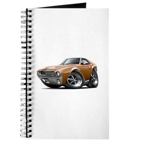 1968-69 AMX Brown-Black Car Journal