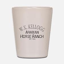 Arabian Horse Kellogg Ranch Shot Glass